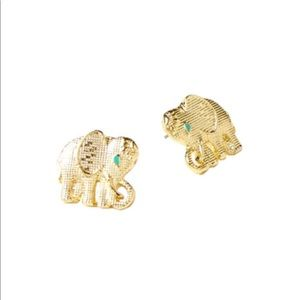 Lilly Pulitzer Elephant Critter earrings